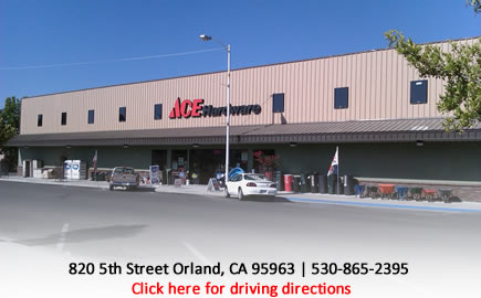 Orland Ace Hardware store